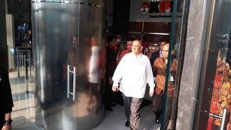 Dirut PLN Sofyan Basir usai diperiksa KPK, Jumat 28 September 2018