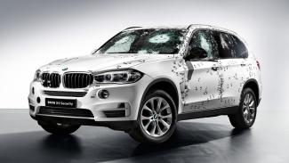 Uji tembak BMW X5 Security