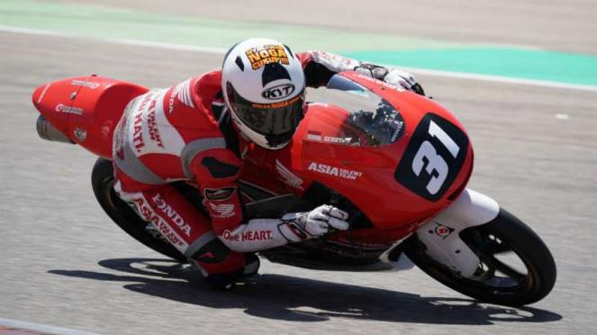 Gerry Salim, Pebalap Astra Honda di Moto 3