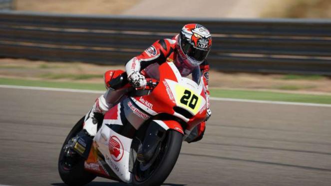 Dimas Ekky, Pebalap Astra Honda di Moto 2