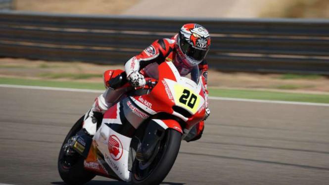 Pembalap Moto2 asal Indonesia, Dimas Ekky