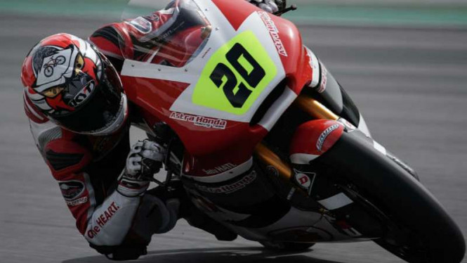Dimas Ekky, pembalap Astra Honda Racing Team