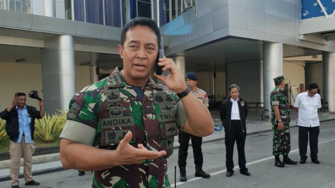 Pangkostrad TNI AD, Letjen Andika Perkasa.