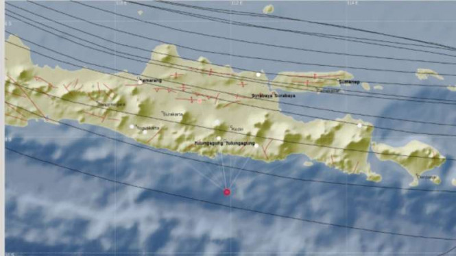 Gempa guncang Blitar, dan Malang, Jawa Timur, Senin, 1 Oktober 2018.