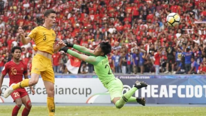 Bek Australia, Daniel Walsh membobol gawang Timnas Indonesia U-16