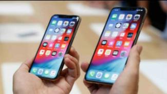 iPhone Xs dan Xs Max.
