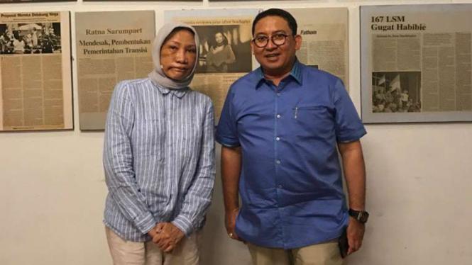 Ratna Sarumpaet dan Fadli Zon