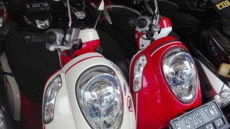 Honda Scoopy di pasar motor bekas.