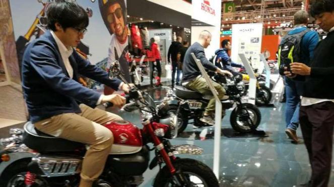 Honda Monkey hadir di Intermot.