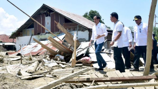 Presiden Jokowi kunjungan ke Lombok