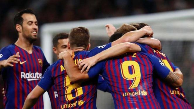 Pertandingan Barcelona.