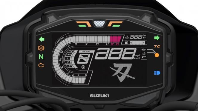 Motor Suzuki Katana 2018