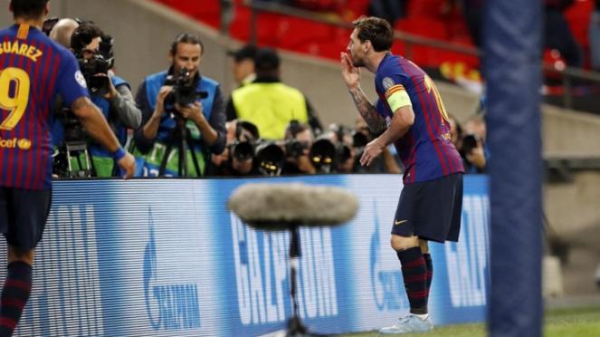 Kapten Barcelona, Lionel Messi