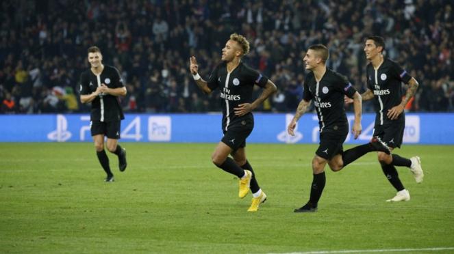 Pemain Paris Saint-Germain (PSG).