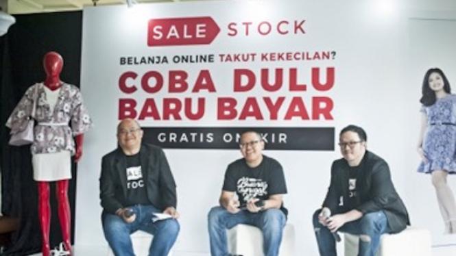 Aplikasi toko baju online, Sale Stock.