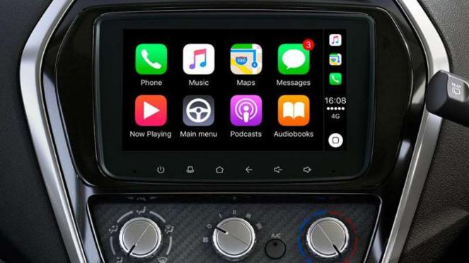 Sistem hiburan Datsun GO baru