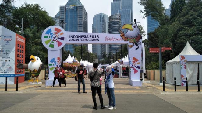 Zona Parafest Asian Para Games 2018