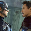 Captain America (Chris Evans) dan Iron Man (Robert Downey Jr.)