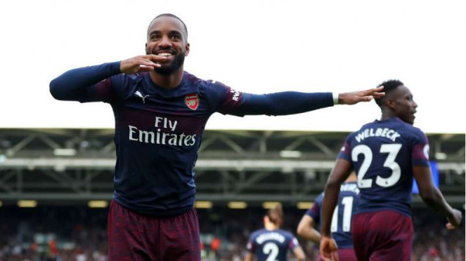 Striker Arsenal, Alexandre Lacazette.