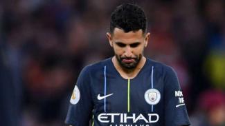 Gelandang Manchester City, Riyad Mahrez.