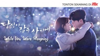 Serial drama Korea 'While You Were Sleeping' di Iflix.