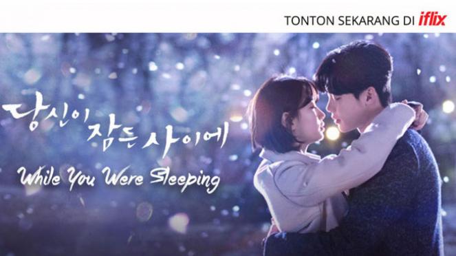 Serial drama Korea While You Were Sleeping di Iflix.