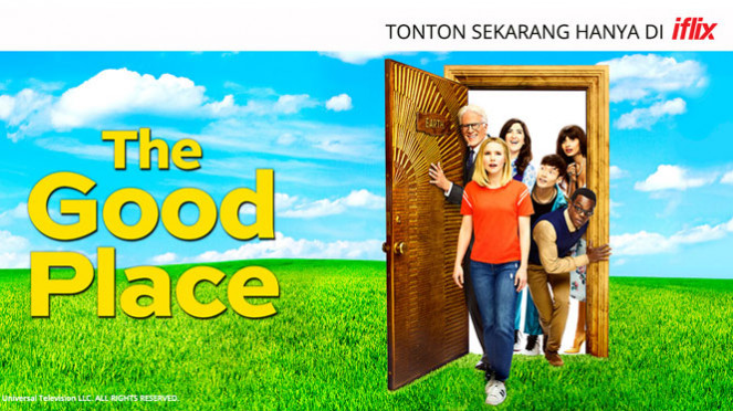 Serial Hollywood The Good Place di iflix.
