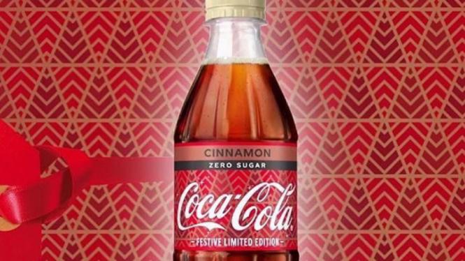 Coca-Cola rasa kayu manis.