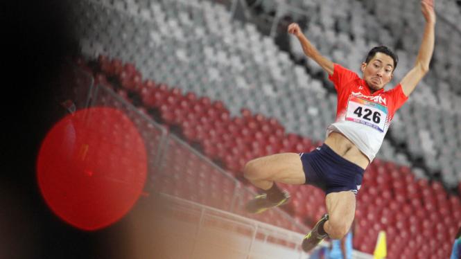 Lompat Jauh Putra Sumbang Medali di Asian Para Games