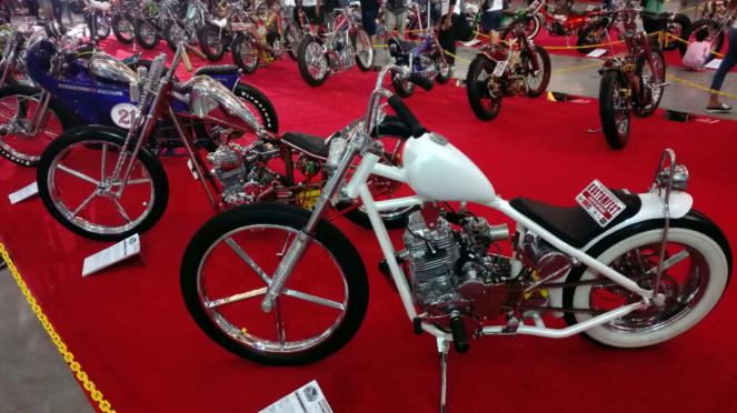 Pameran motor custom Kustomfest