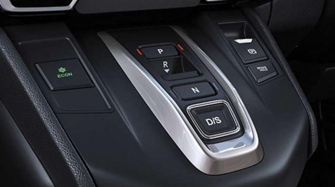 Tombol transmisi Honda CR-V edisi India
