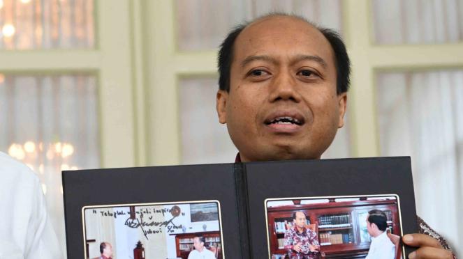 Kepala Pusat Data Informasi dan Humas Badan Nasional Penanggulangan Bencana (BNPB), Sutopo Purwo Nugroho