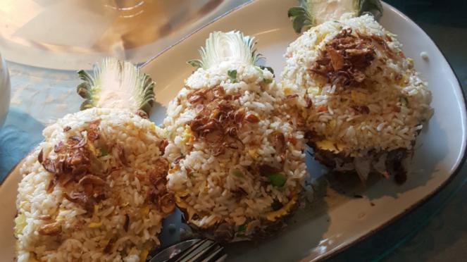 Menu seafood khas China di Restoran Tien Chao, Gran Melia Hotel Jakarta.