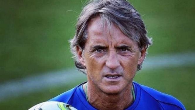 Mantan manajer Manchester City, Roberto Mancini.