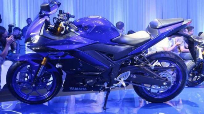 Yamaha R25 terbaru resmi meluncur di Jakarta.