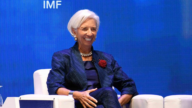 Direktur Pelaksana Dana Moneter Internasional (IMF), Christine Lagarde