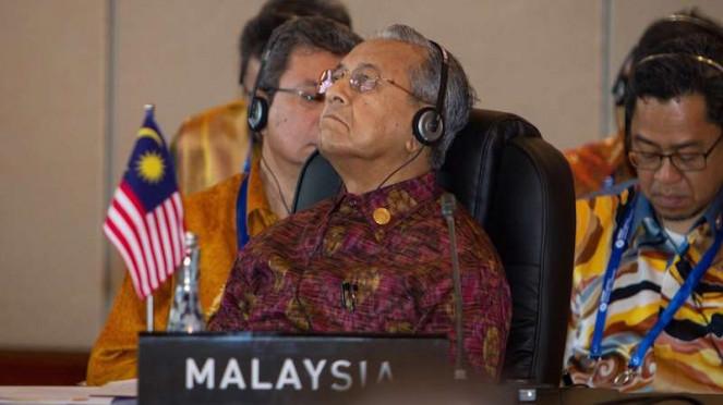 Perdana Menteri Malaysia Mahathir Mohamad