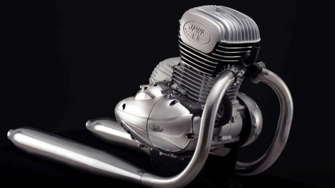 Mesin motor Jawa versi baru
