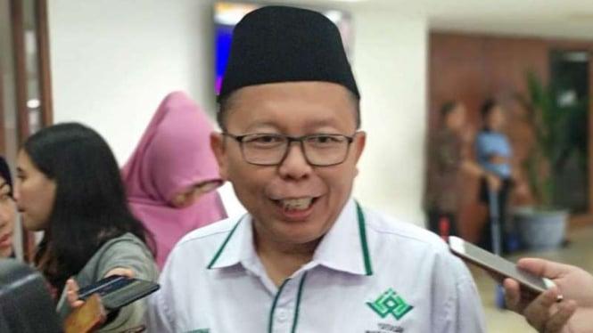Wakil Ketua Tim Kampanye Nasional Jokowi-Ma'ruf, Arsul Sani
