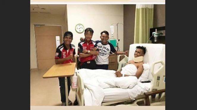 Pembalap Malaysia, Izzat Saidi