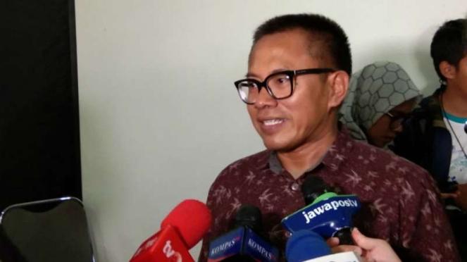 Ketua Umum Aliansi Jurnalis Independen (AJI) Abdul Manan