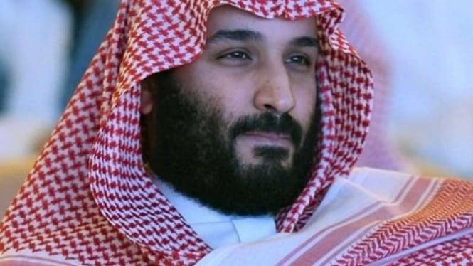 Putra Mahkota Arab Saudi, Mohammed bin Salman.