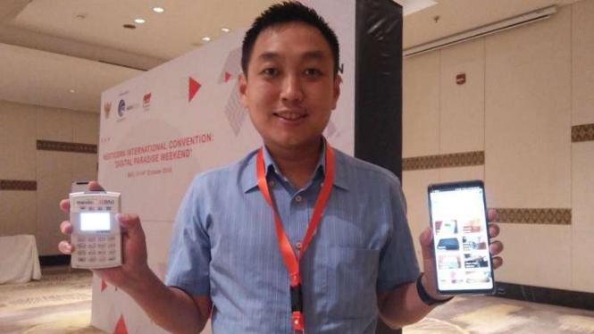 CEO Cashlez Teddy Setiawan Tee.