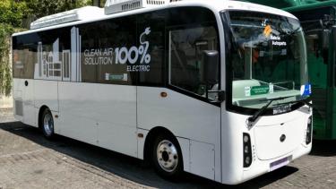 Bus Listrik Buatan Bakrie