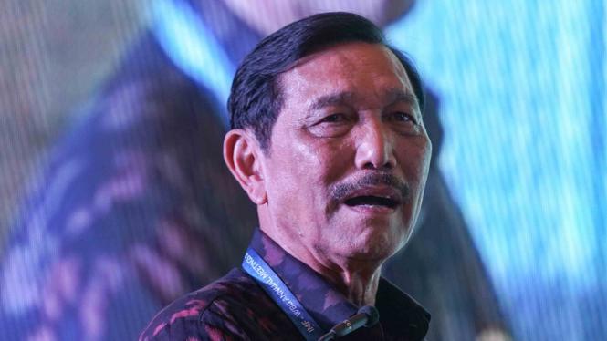 Menteri Koordinator Bidang Kemaritiman, Luhut Binsar Pandjaitan