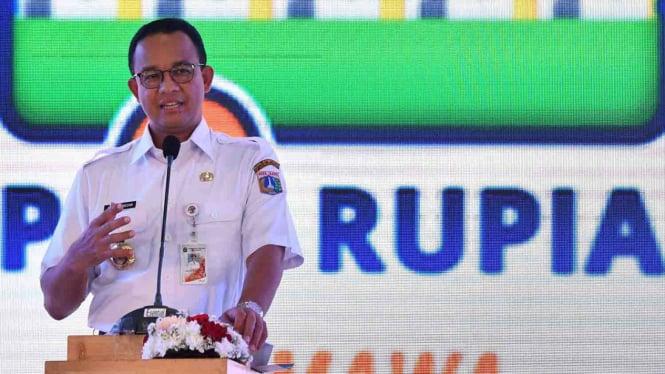 Anies Sebut Pekerja di Jakarta Minimal Dapat Rp4,5 juta Per Bulan