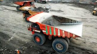 Kegiatan penambangan Bumi Resources.