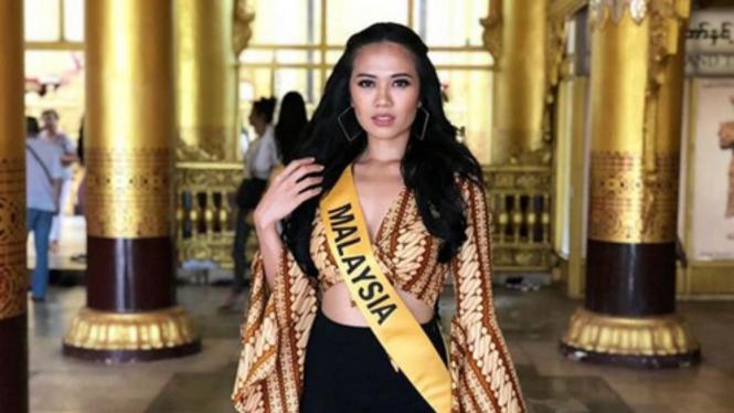 Miss Grand Malaysia 2018, Debra Jeanne Poh.