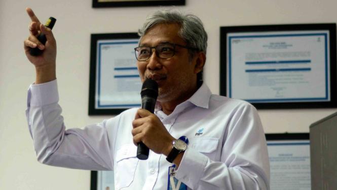 Direktur Utama PT Perusahaan Gas Nasional (PGN), Gigih Prakoso