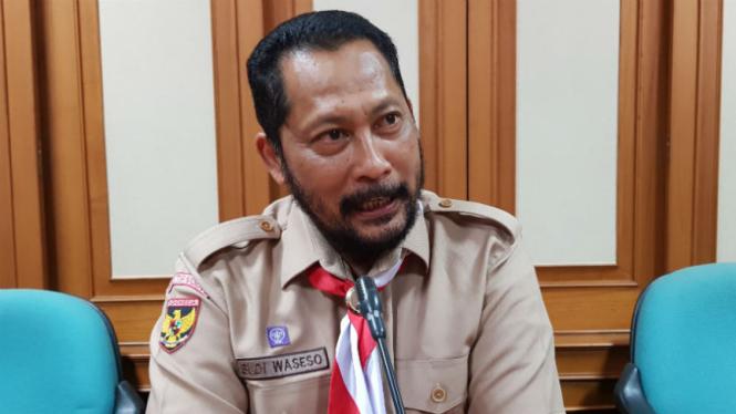 Ketua Kwartir Nasional Gerakan Pramuka Budi Waseso